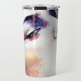 At times when we are hurt, we learn the most Travel Mug