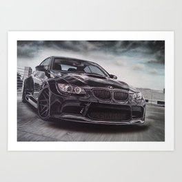 Sport Car Art Print