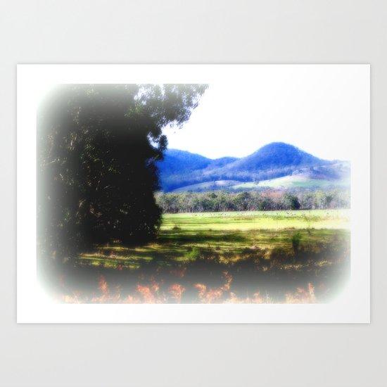 The Pyrenees Art Print