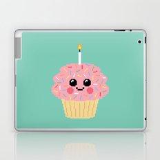 Happy Pixel Cupcake Laptop & iPad Skin