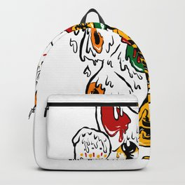 Melting Maneki Neko Lucky Cat Backpack