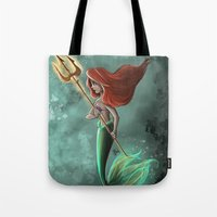 ariel Tote Bags featuring Ariel by Laia™