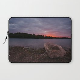 Sunrise Glow At Chasewater Laptop Sleeve
