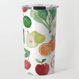 Veggie collage Travel Mug