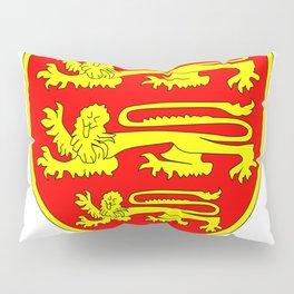 British Three Lions Shield Pillow Sham