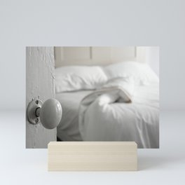 Sleeping Alone Mini Art Print