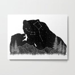 Ursa Major Ursa Minor Metal Print