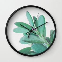 Crassula II Wall Clock