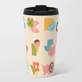 ABCs Ice Cream Travel Mug