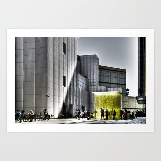 LACMA - Los Angeles County Museum of Art Art Print