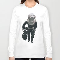scuba Long Sleeve T-shirts featuring Scuba Diver by Jentfah