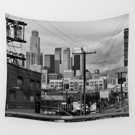 Los Angeles from the 110 Wall Tapestry