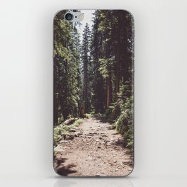 Entering the Wilderness - Landscape and Nature Photography iPhone Skin