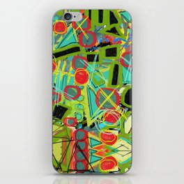 Geometric Explosion 1 iPhone Skin