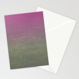 Pink, Gold & Silver Ombre Shimmer Stationery Cards