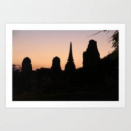 pagoda Art Print
