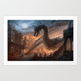 Elegy of Fire Art Print