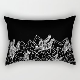 Crystal Terrarium Rectangular Pillow