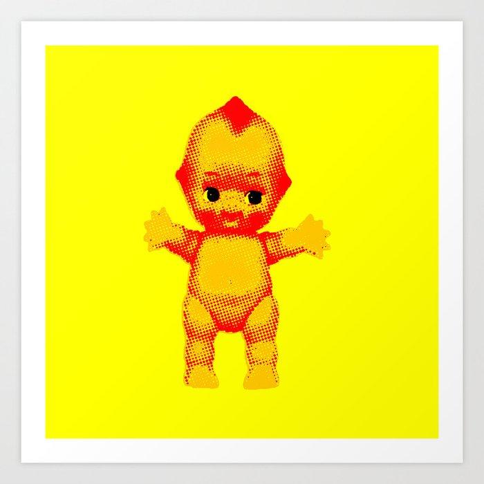 Kewpie Doll Art Print