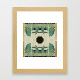 """Abstract Ships at the Sea"" Framed Art Print"