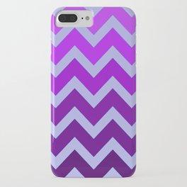 Purple Haze Chevron iPhone Case