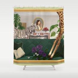 The Subconscious World Shower Curtain