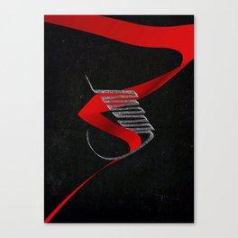 Devils Soul Canvas Print