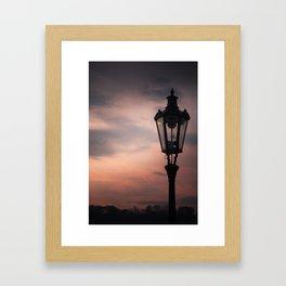 Victorian Lantern Framed Art Print