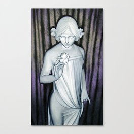 Nymph of the Fields part 2 Canvas Print