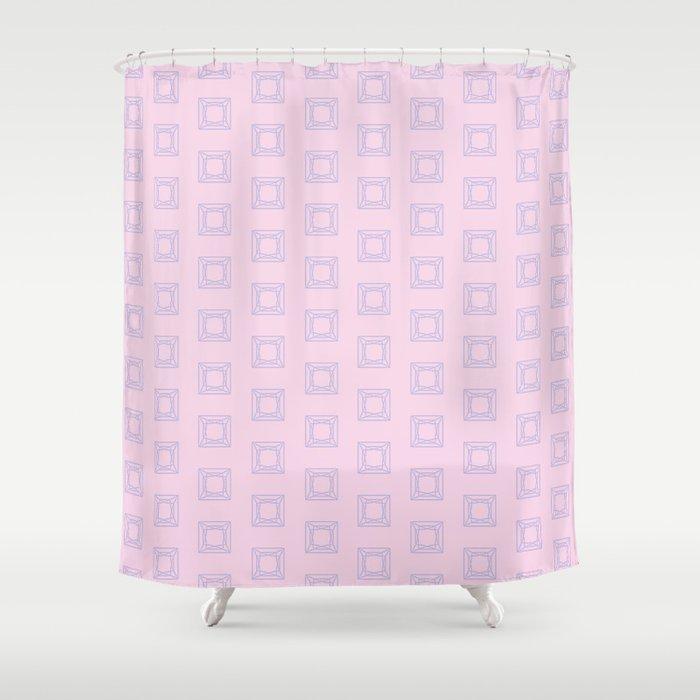 Happy Princess Gems Shower Curtain