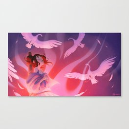 The Wild Swans - The Stake Canvas Print