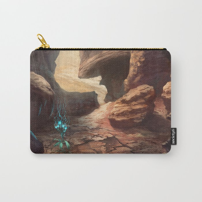 The land of magical flower | Fantasy Landscape Concept Art Carry-All Pouch