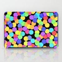 confetti iPad Cases featuring Confetti by The Wellington Boot
