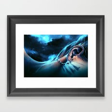 I want to talk to you Framed Art Print