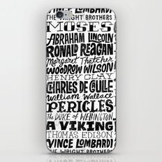 Newt Gingrich's Self Comparisons iPhone & iPod Skin