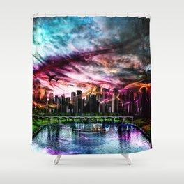 Neuanfang Shower Curtain