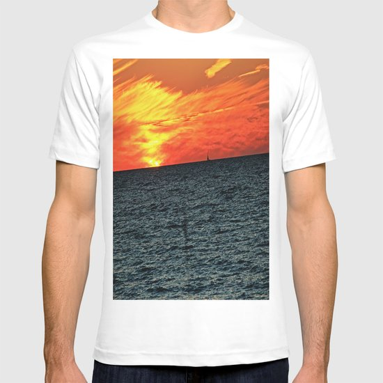 fire in the sky T-shirt