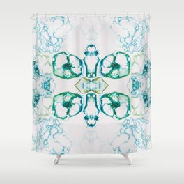 Fragmented 10 Shower Curtain