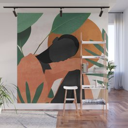 Tropical Girl 10 Wall Mural