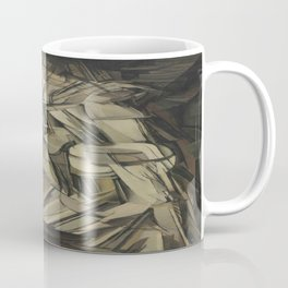 Marcel Duchamp's Nude Descending a Staircase, No. 2 Coffee Mug