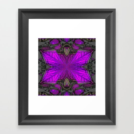 Theme and Variation Framed Art Print