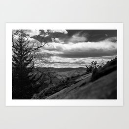 View off of Crane Mtn. Art Print