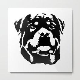 Rottweiler Dog Metal Print