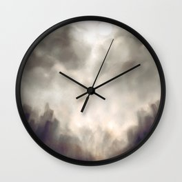Every day is a new day Wall Clock