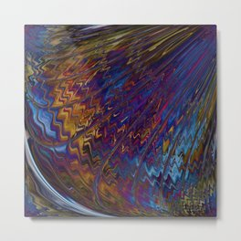 Angels Wings Heaven Sings Celestial Abstract Metal Print