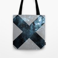 the xx Tote Bags featuring XX by  Can Encin