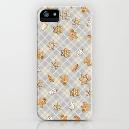 Gingerbread Light iPhone Case