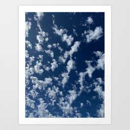 Cloud Gazing Art Print