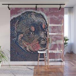 GlitzyAnimal_Dog_004_by_JAMColors Wall Mural