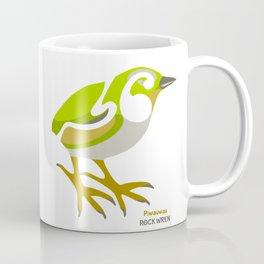Rock Wren New Zealand Bird Coffee Mug